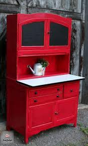 Hoosier Cabinets For Sale by Red Hoosier Cabinet Revamp U2013 Funcycled