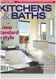 kitchen and bath design magazine kitchens and baths magazine japanese ofuro bathtubs by bartok design
