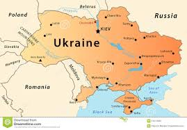 Map Ukraine Ukraine Map Stock Images Image 38666544
