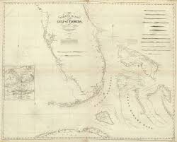 Map Of Florida Gulf by Composite Bahama Banks Gulf Of Florida David Rumsey