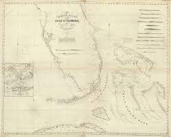 Florida Map Gulf by Composite Bahama Banks Gulf Of Florida David Rumsey