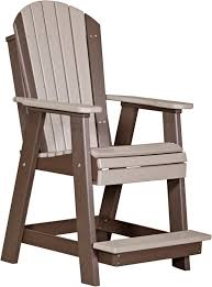 Luxcraft Outdoor Furniture by Luxcraft Adirondack Balcony Chair Amish Yard