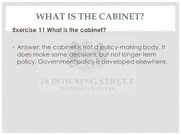 What Is A Government Cabinet Gp4b Governing Modern Wales U2013 The Core Executive The Nature And