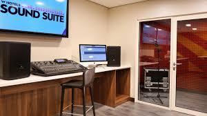 Small Music Studio Desk by W Sound Suite Recording Studio At W Barcelona