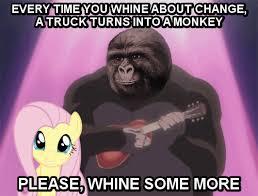 Gorilla Munch Meme - 404818 animated beast wars cromartie high school fluttershy