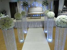 how to decorate pillars for a wedding decorations exclusive idea 1