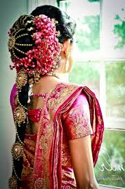 bridal hairstyle for marriage floral hairdo ideas to add glamour to your look fullonwedding