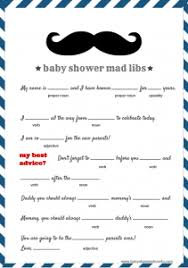baby mad libs free baby mad libs baby advice baby shower ideas themes