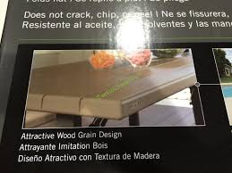 lifetime picnic table costco lifetime products folding picnic table costcochaser