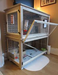 Rabbit Hutch Plastic The Bunny Palace Indoor Rabbit Cage Ikea Hackers Ikea Hackers