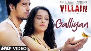film india villain ek villain galliyan video song ankit tiwari sidharth malhotra