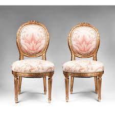 Antique Chair Styles by Pair Of Giltwood Carved Louis Xvi Side Chairs French Interiors