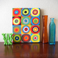 easy canvas art for kitchen the idea stems from an artwork by