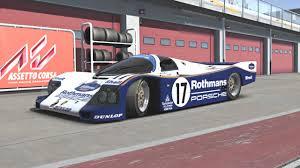 rothmans porsche 956 porsche 962 for assetto corsa u2013 two new previews u2013 virtualr net