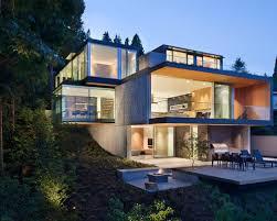 hillside home plans modern hillside house plans tiny house
