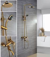 Gold Bathroom Fixtures Bathroom Accessories Agdrs Gold Led Standing Contemporary Modern