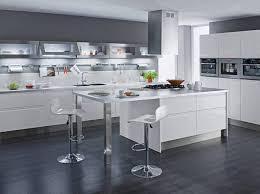 cuisine design blanche cuisine design blanche le bois chez vous