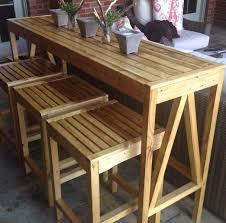 Patio Bar Height Tables 48 Outdoor Bar Stools And Table Carita Outdoor Bar Furniture Pub