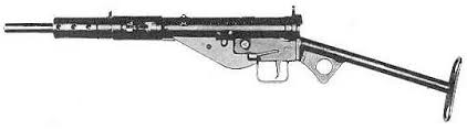 sten gun receiver and parts drawings