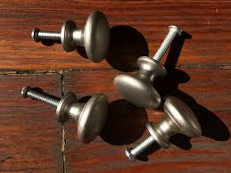how to clean metal cabinet handles set of 4 classic metal cabinet dresser knobs real goods co