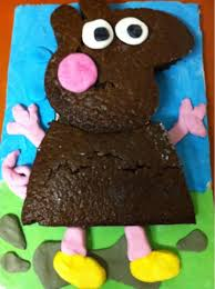 justfordaisy peppa pig birthday cake diy
