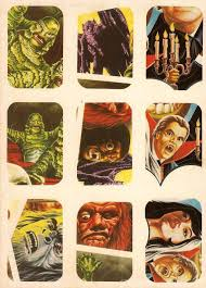 monster brains horror movie stickers 1980 u0027s