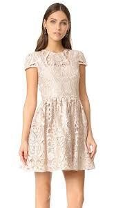 alice olivia gracia full cap sleeve dress shopbop save up to