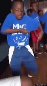 Fat Black Kid Meme - awkward black kid reaction to funny dance gifs get the best gif on