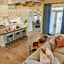 Kitchen Living Space Ideas Best 25 Open Floor Plans Ideas On Pinterest Open Floor House