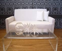 Lucite Coffee Table Ikea Acrylic Coffee Table Minimalist Home Design By