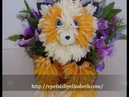 dog flower arrangement epetals by elizabeth floral animal arrangements