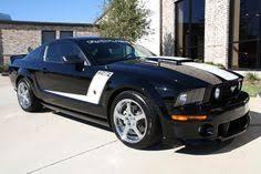 2008 Black Mustang Gt 2008 Roush 427r 2008 Ford Mustang Roush 427r Coupe Black Dark