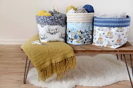 Canvas Storage Bins Hawthorne Threads Blog