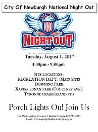 national night out newburgh ny