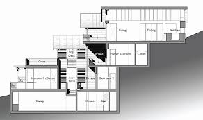 hillside floor plans structural plans for my house inspirational hillside house plans