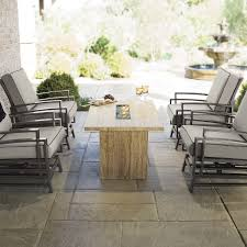 Gas Fire Pit Table Sets - furniture magnificent outdoor furniture for outdoor dining room
