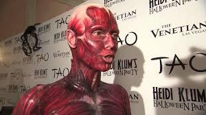 Halloween Costumes Nightclubs Heidi Klum Halloween Vegas Tao Nightclub 10 29 11