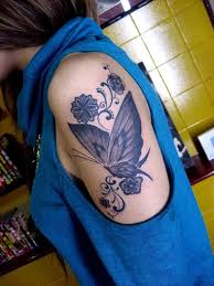 forearm designs for arm butterfly designs