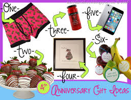4th anniversary gift ideas 4th fourth anniversary gift ideas traditional gifts for wedding