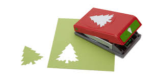 christmas tree clearance success paper shapers slim profile large punch christmas