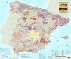 Almeria Spain Map by Iberian Peninsula Wine Regions Of Spain