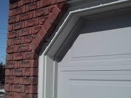 Garage Door Strip Seal by How To Insulate The Gaps Between The Garage Door And Side Wall