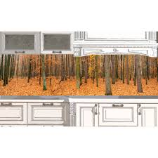 Kitchen Backsplash Wallpaper Kitchen Backsplash Autumn Forest 50 Desing Ideas For Kitchen
