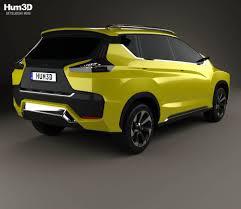 mitsubishi crossover models mitsubishi xm 2016 3d model hum3d