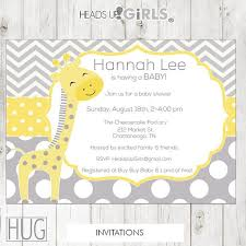 baby shower giraffe giraffe baby shower invitations dhavalthakur