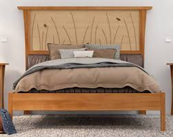 Platform Bed Frame King Wood Bed Frame King Size Headboard Platform Bed Queen Art Deco