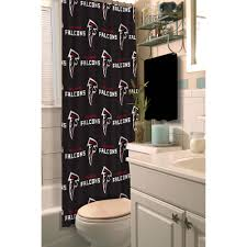Cleveland Browns Home Decor by Nfl Atlanta Falcons Decorative Bath Collection Shower Curtain