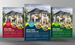 real estate flyer design templates download the best free real