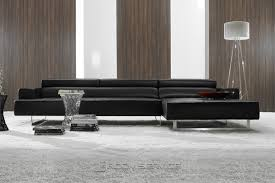 Contemporary Black Leather Sofa Amazing Contemporary Black Leather Sofa Modern Leather Sofas