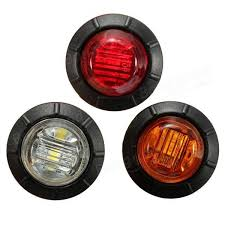 led side marker lights 12v 24v led side marker light indicator l car bus truck trailer